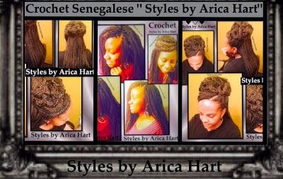 Crochet sengalese braid hair styles | protective hair styles, updo,  black hair styles