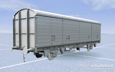 Fastline Simulation: Second VDA van for RailWorks out of the oven.