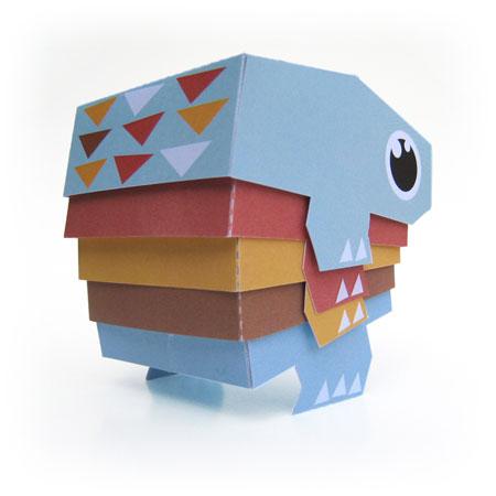 Momo Paper Toy