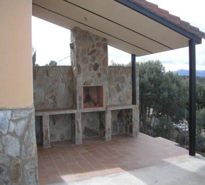 obra nueva construccin de porches y terrazas
