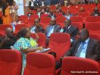 Des participants à l'atelier sur la première revue conjointe du plan intérimaire de l'éducation. Radio Okapi/Ph. John Bompengo