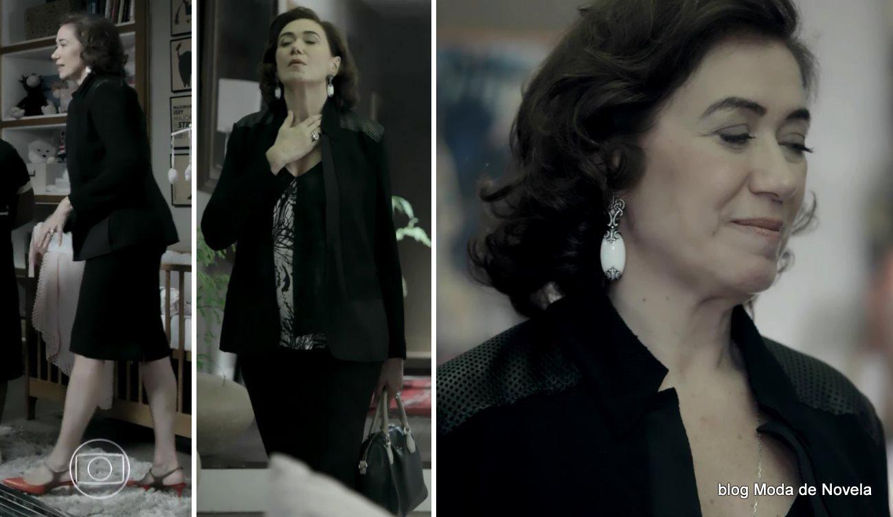 moda da novela Império, look da Maria Marta dia 31 de dezembro de 2014