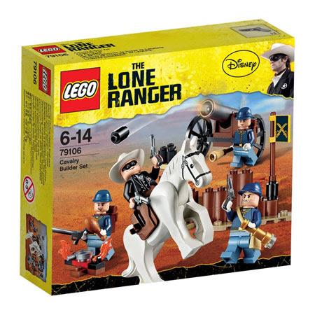 Đồ chơi LEGO 79106 The Lone Ranger Cavalry Builder (Người hùng đơn độc)