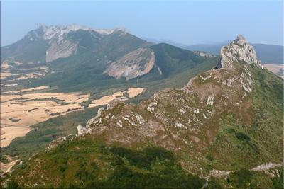 Cresterío de Peñalta visto desde la cima de Lapoblación