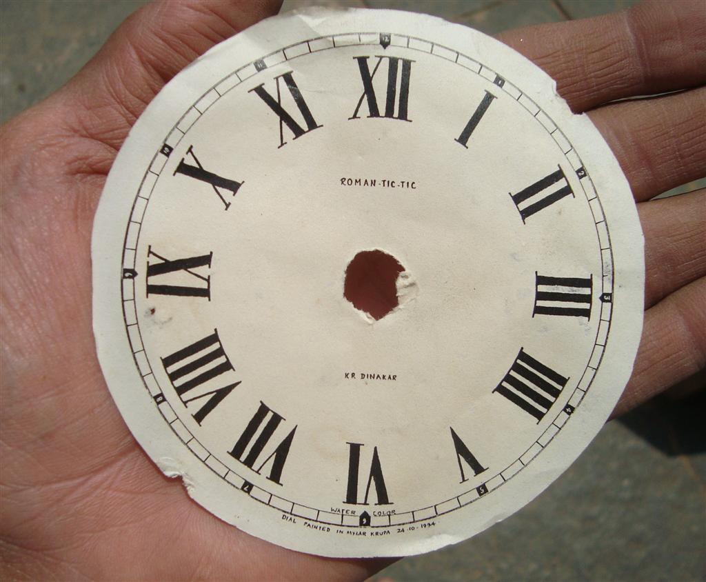 ``Mysurean Musings: Clocks and Watches: Part 2