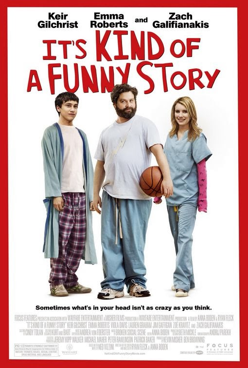 Poster Of It's Kind of a Funny Story (2010) Full Movie Hindi Dubbed Free Download Watch Online At Alldownloads4u.Com