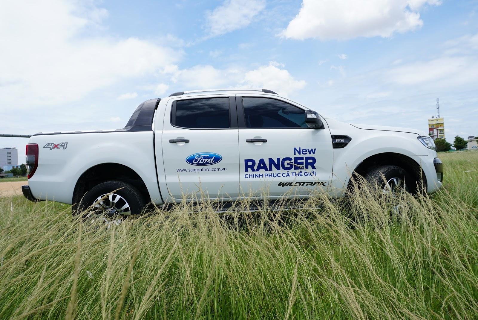 Ford Ranger Wildtrak là một chiếc bán tải thông minh, tuyệt đẹp và tràn đầy sức mạnh