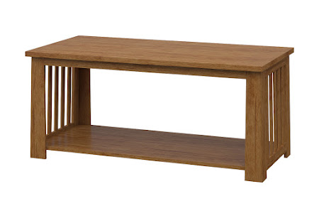 Teton Coffee Table in Como Maple