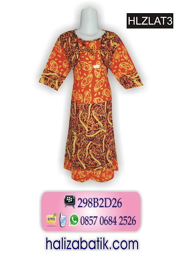desain baju batik, toko online, baju batik muslim