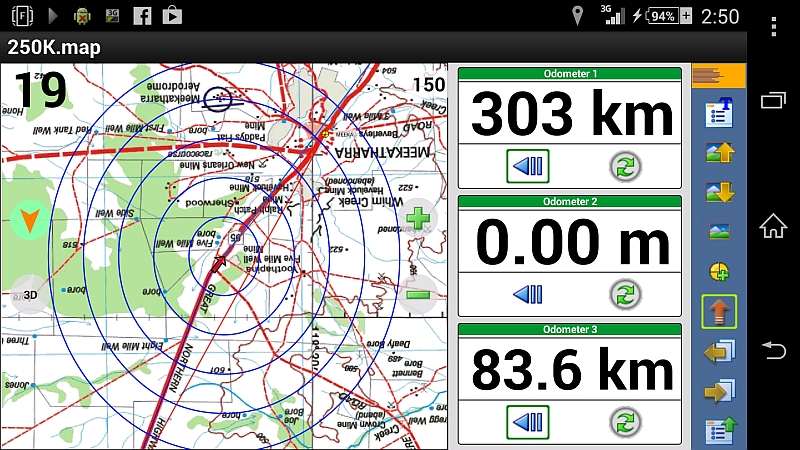 Topographic maps and GPS app for android phones? - Australian