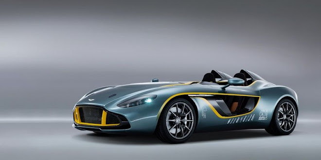 Aston Martin CC100 Speedster Concept - a centenary tribute [VIDEO]