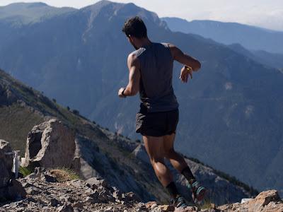 Corredor prop del cim del Pedraforca
