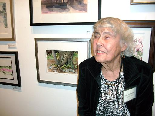 Artist Natalie Fleming