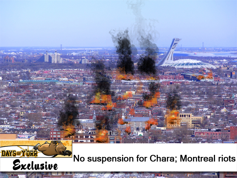 Montreal burns