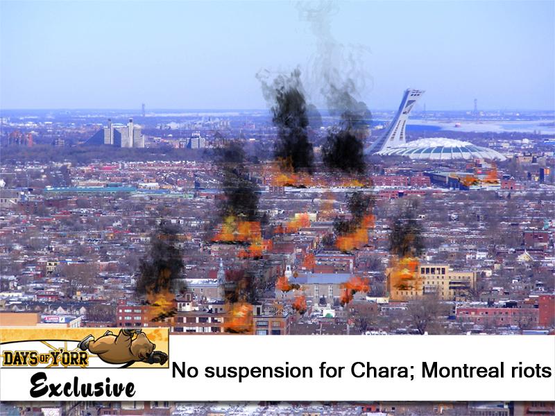 Montreal burns