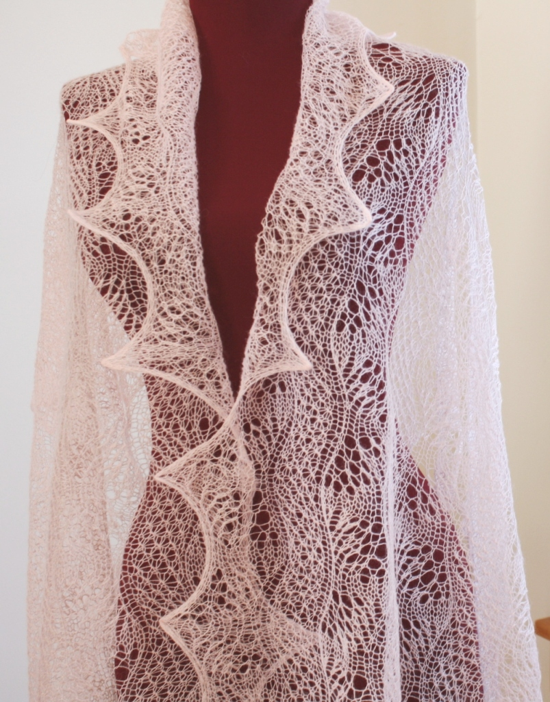 All Knitted Lace: Pattern Release: Dunes and Waves