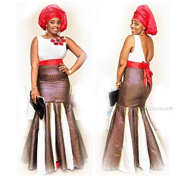 Ankara magazine everyday people in rich nigerian traditional outfits