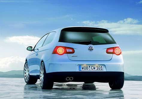 Volkswagen Golf, en el hielo