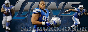 Detroit Lions Ndamukong Suh Facebook Cover Photo