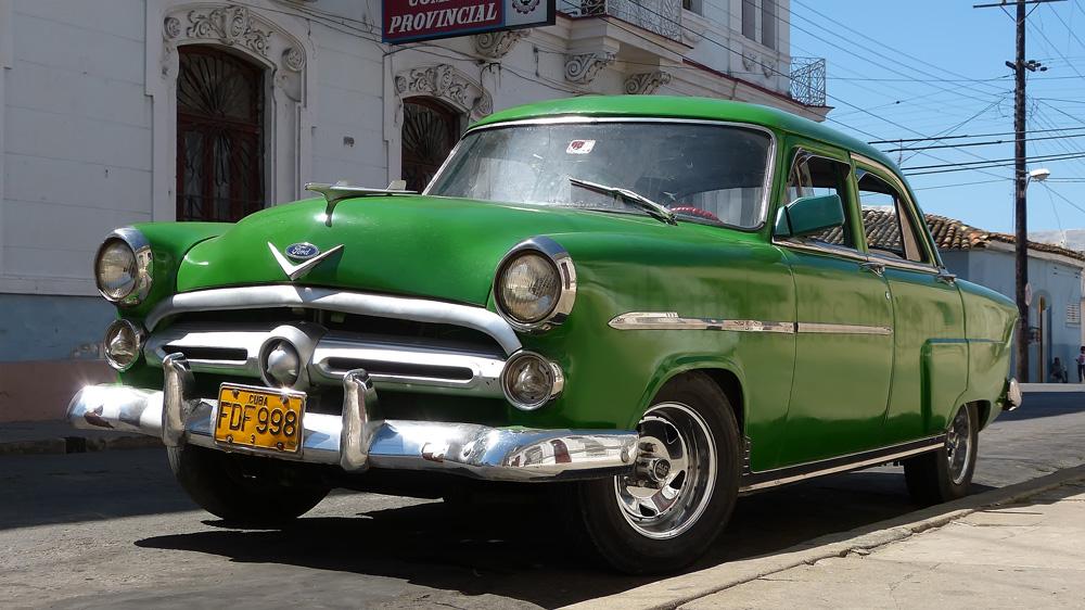 1952 ford customline v 8 fordor sedan cuban classics