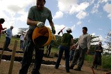 Taller de Huertos Organicos por Nelson Alvarez en la Hacienda La Esperanza.