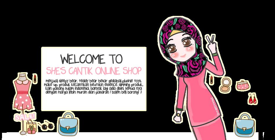 She's Cantik Online Shop