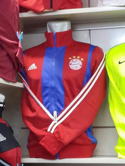 Jaket Bayern Munchen Home 2014-2015