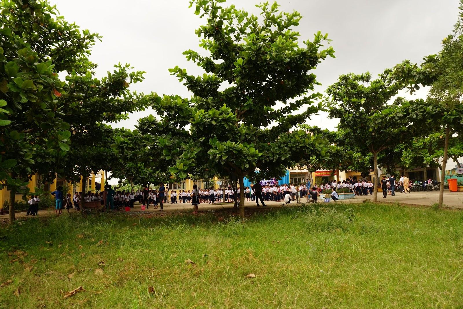 Mái trường nhỏ đơn sơ làm chúng tôi nhớ về ngôi trường nhỏ ngày xưa mình từng học