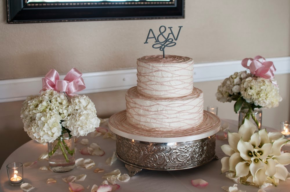Lakewood Country Club wedding cake