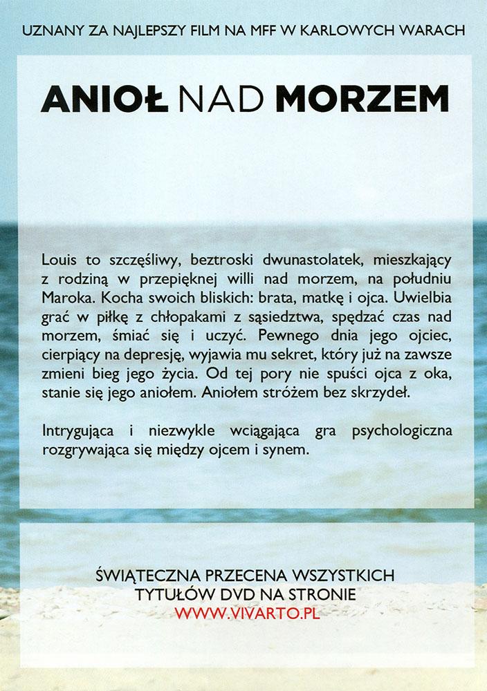 Ulotka filmu 'Anioł Nad Morzem (tył)'