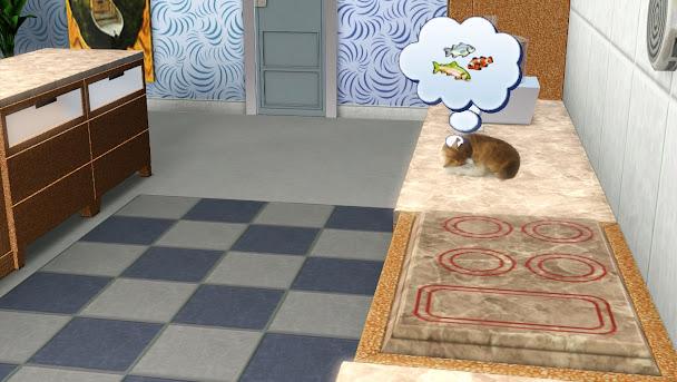 кошка симс 3