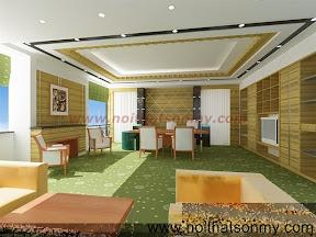 Mẫu thiết kế nội thất phòng khách 310