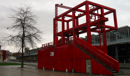 Folly at Parc la Villette