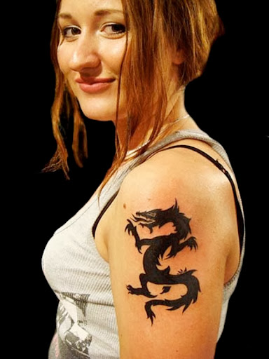 dragon tattoos girls