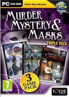 Murder Mystery And Masks Triple Pack   PC
