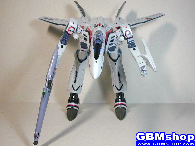Macross Frontier VF-25F Messiah GERWALK Mode