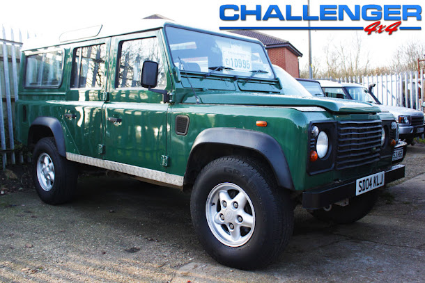 4x4 Land Rover Defender For Sale Land Rover Defender 110 Td5 sw