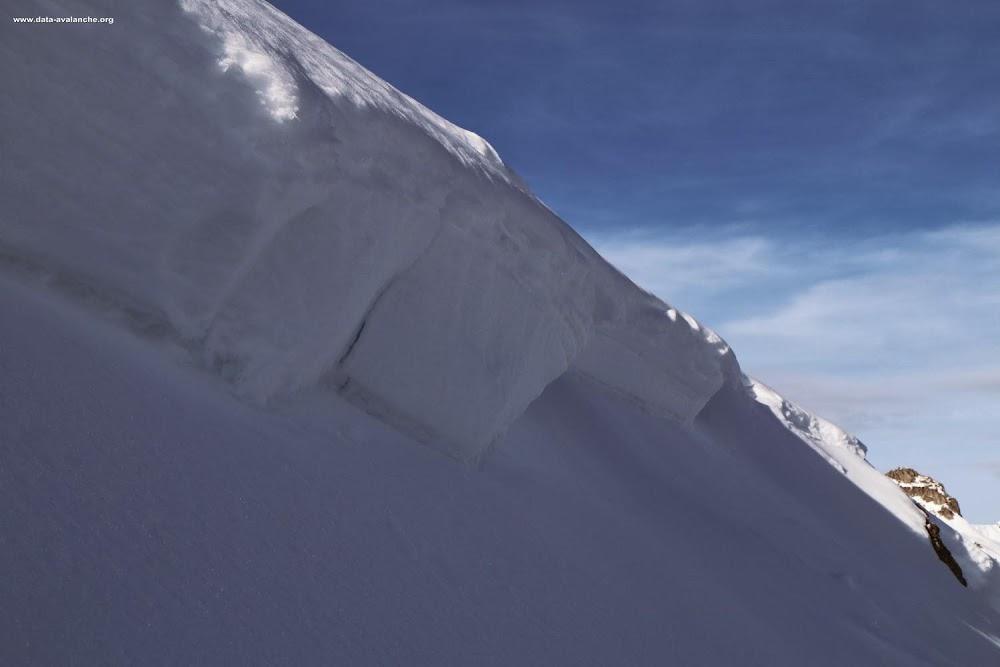 Avalanche Lauzière, secteur Pic de Lachat, RD 94 Couloir de la Roche - Photo 1 - © Duclos Alain