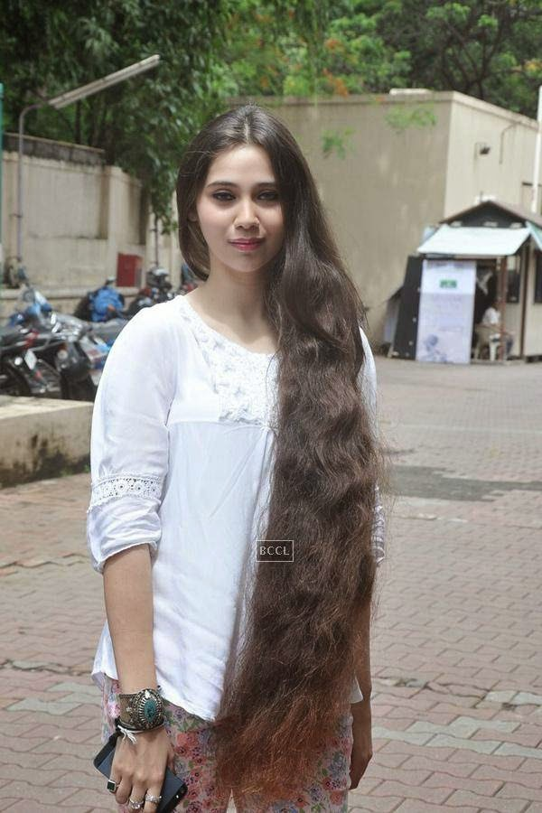 Sasha Agha during the promotion of upcoming movie Desi Kattey, in Mumbai, on July 14, 2014. (Pic: Viral Bhayani)