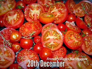 French village diaries tomato recipe advent calendar a to z French food
