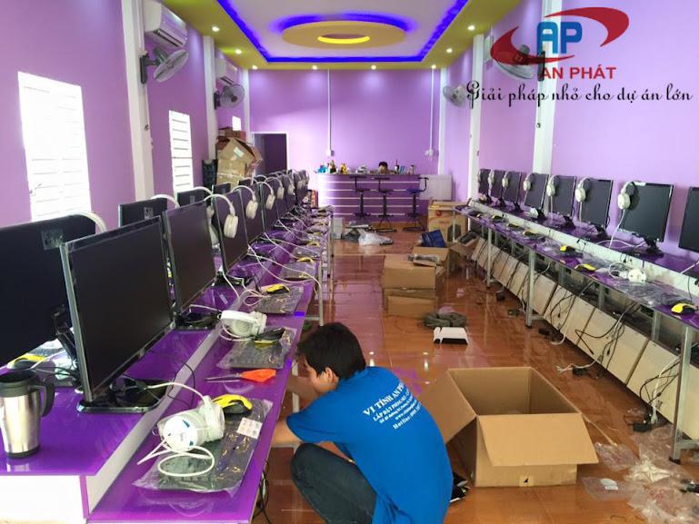 Lắp đặt phòng net bootrom 30 máy cấu hình Core I3-4510 tại Thuận An, Bình Dương