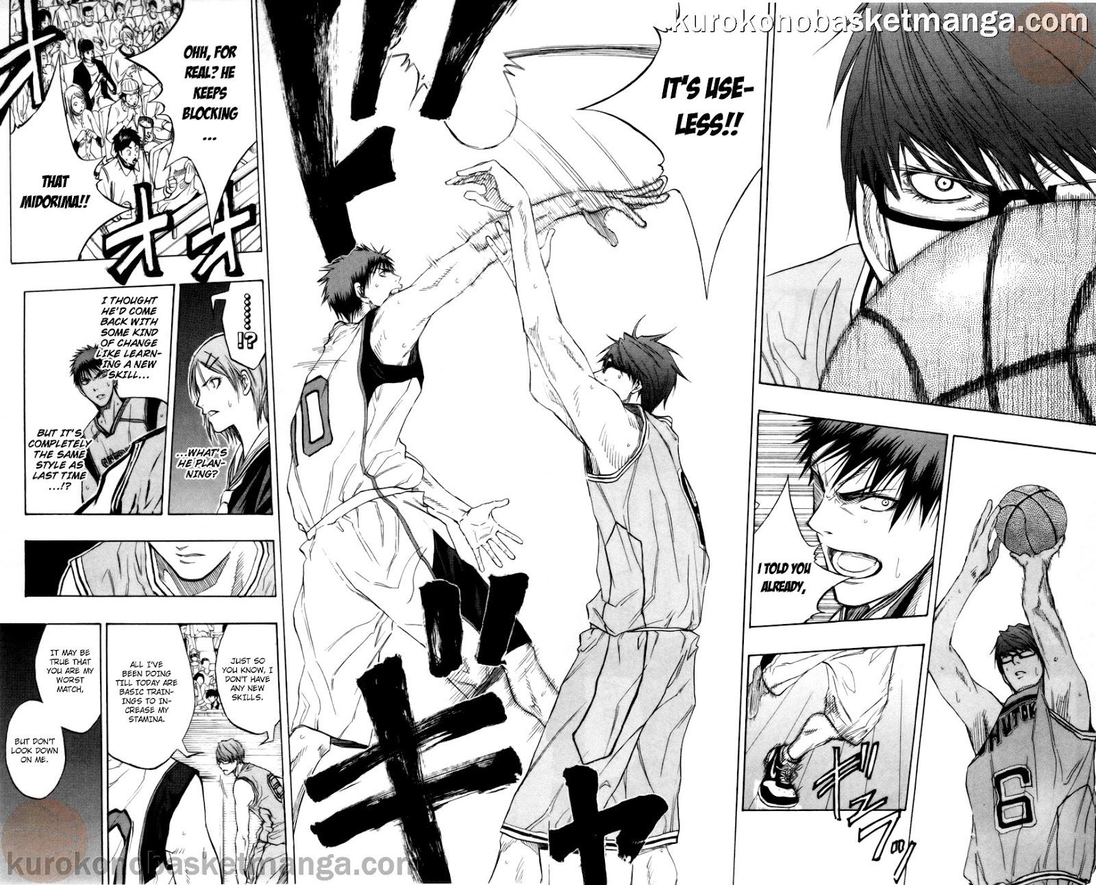 Kuroko no Basket Manga Chapter 86 - Image 16-17