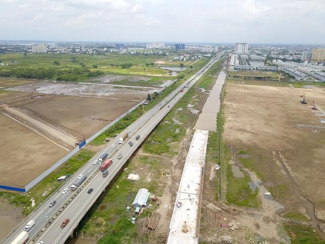 Trong khu vực kết nối hoàn hảo, hạ tầng hoàn thiện