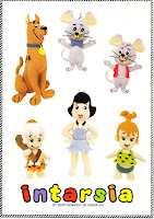 SCOOBY DOO, TRIXIE & DIXIE, BETTY RUBBLE, PEBBLES FLINTSTONE, BAM-BAM RUBBLE