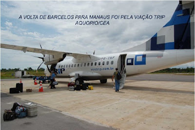 Viagem Barcelos a Manaus