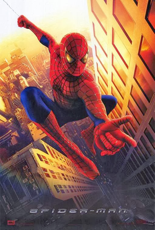 Poster Of Spiderman (2002) Full Movie Hindi Dubbed Free Download Watch Online At alldownloads4u.com