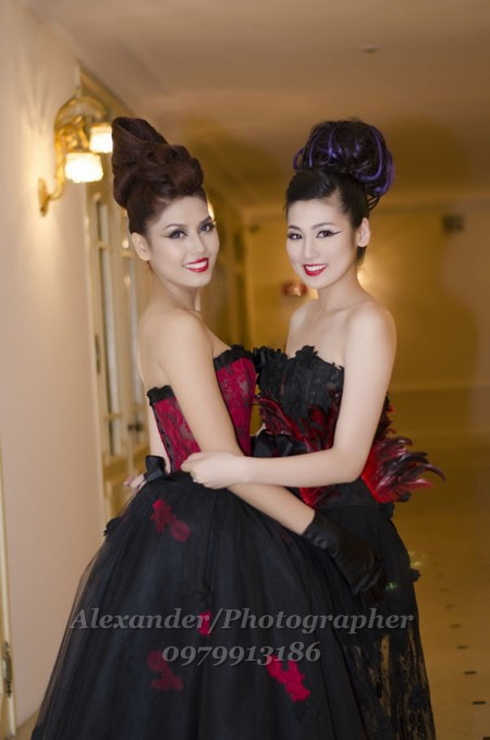 "Davines Hair Show & Contest 2012 Hội tụ ""Sao Việt"""