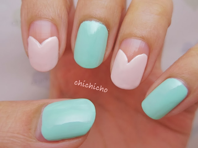 Lady Nail Art with Water Decal