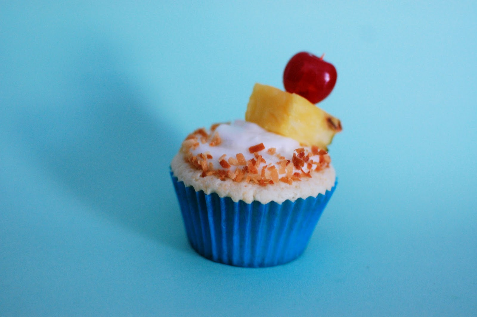 Pina Colada Cupcakes | Beantown Baker