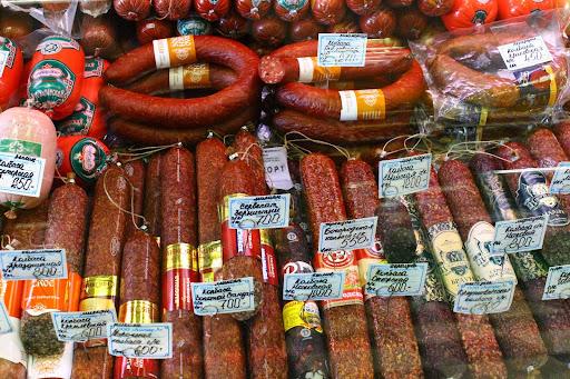 russian supermarket sausage